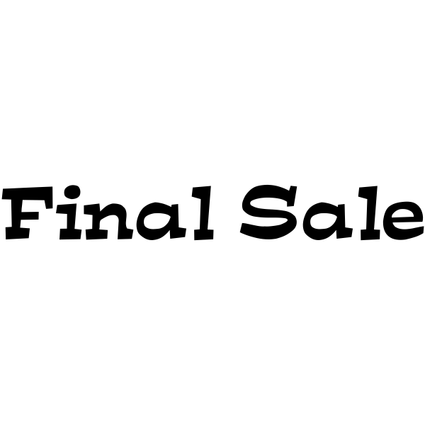 Final Sale Stamp Tap On The Above Image For More Views