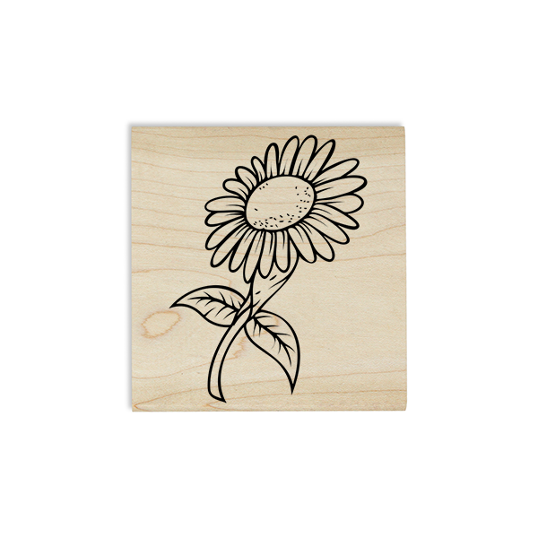 Sunflower Craft Stamp Body and Design