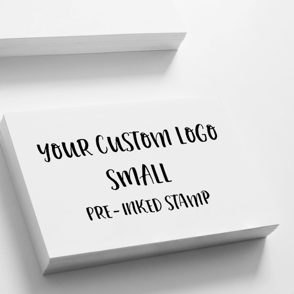Your Small Logo Custom Stamp