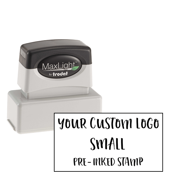 Your Small Logo Custom Pre-inked Stamp