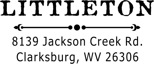 Littleton Custom Return Address Stamp