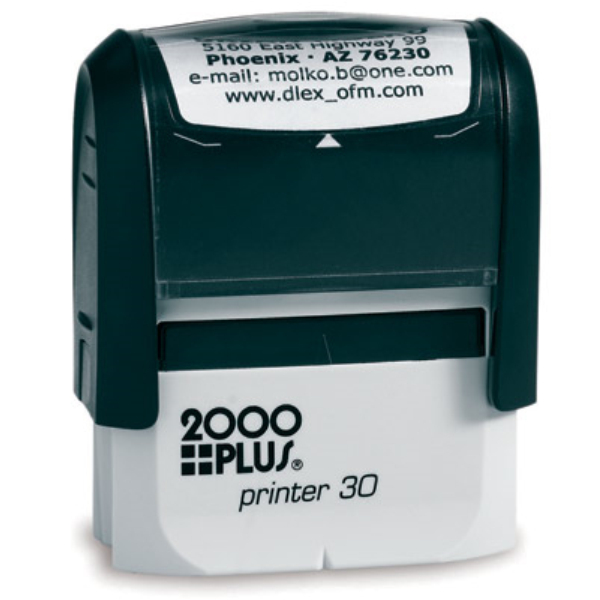 2000Plus P30 - Black Ink