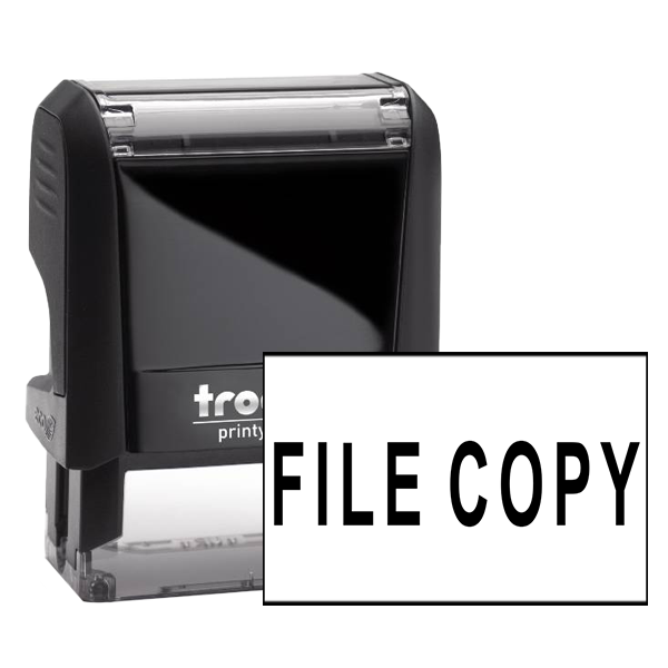 Office File Copy stamp
