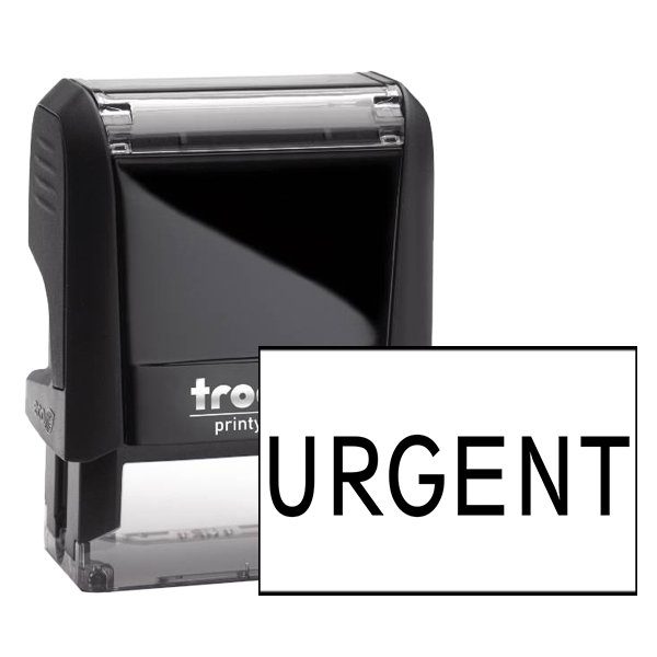 URGENT Bold Stock Office Rubber Stamp