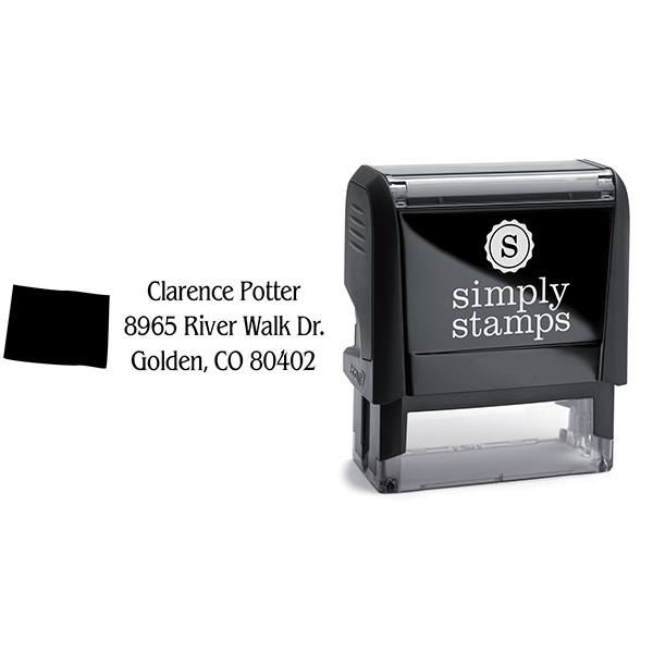 Colorado Return Address Stamp Body and Design