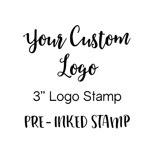 Your Logo Custom Stamp 3 inch