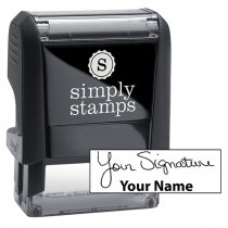 Small Signature Stamp Bottom