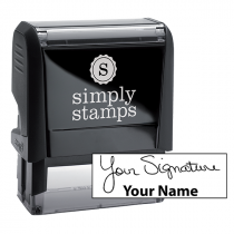Medium Signature Stamp Bottom