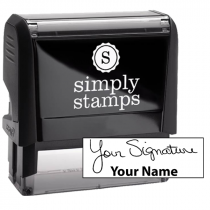 Extra Large Signature Stamp Bottom
