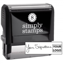 XL Right Logo Signature Stamp