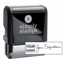 Medium Signature Logo Stamp