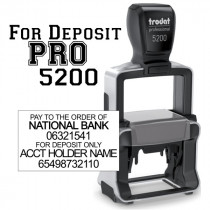 Trodat Professional 5205 Self-inking stamp for Logos