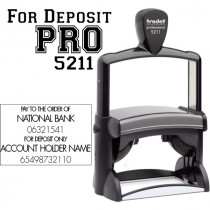 Trodat Professional 5211 Self Inking Text Stamp Model Body