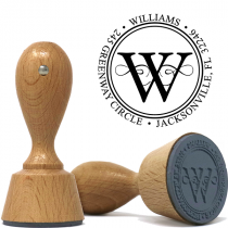 Executive Professional and Powerful Address Stamp