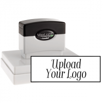 Extra Large Custom Stamp for Rectangle Logos
