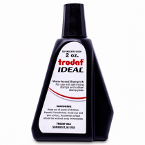 trodat ideal self inking stamp ink refill bottle