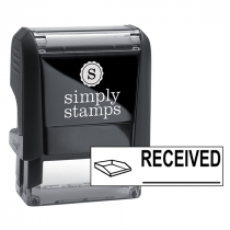 RECEIVED With Inbox Stock Stamp