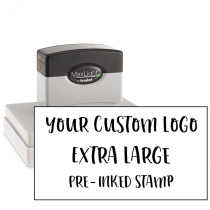 Your Logo Custom Stamp 4 inch