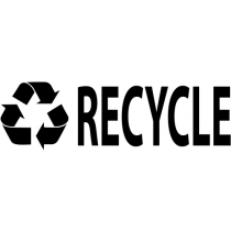Encourage Recycling Symbol Stamp