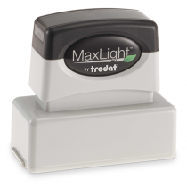 MaxLight Custom Pre-Inked Stamp - MAX-115S -  Black Ink