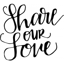 Share Our Love Stamp