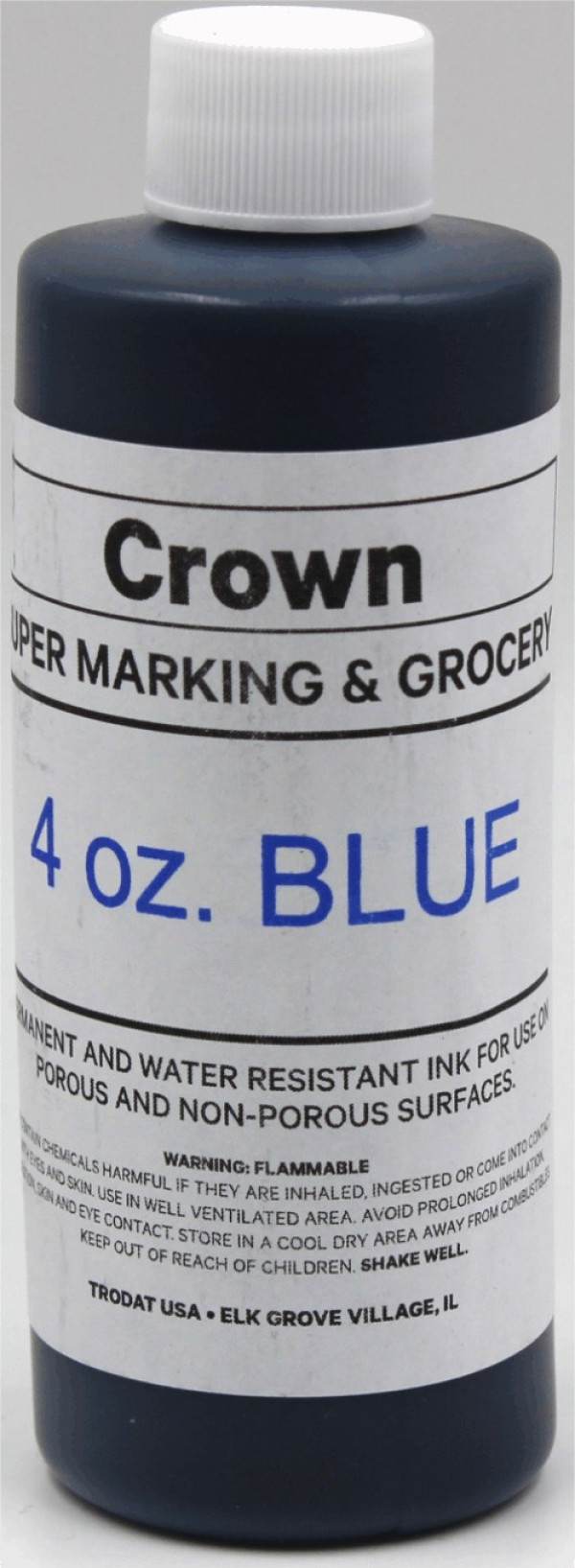 Blue 4oz SuperMarking Ink