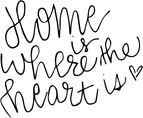 Home is Where the Heart Is Stamp