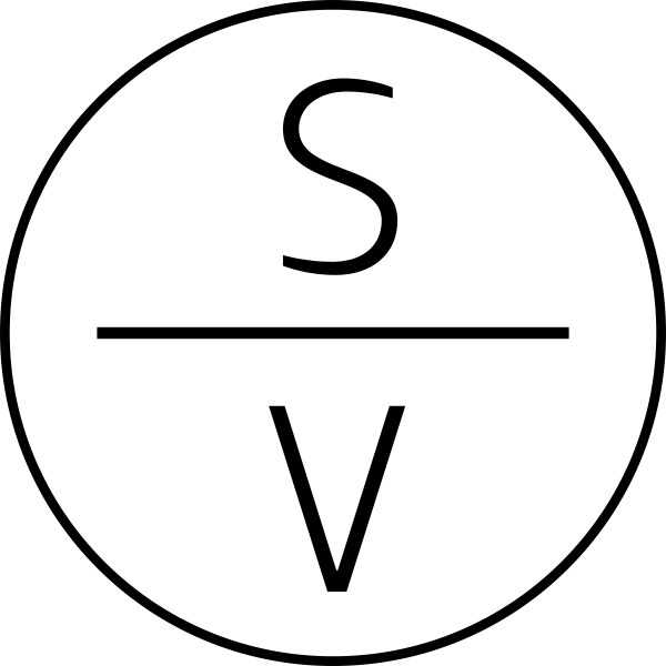 Slimline Vertical Monogram Stamp