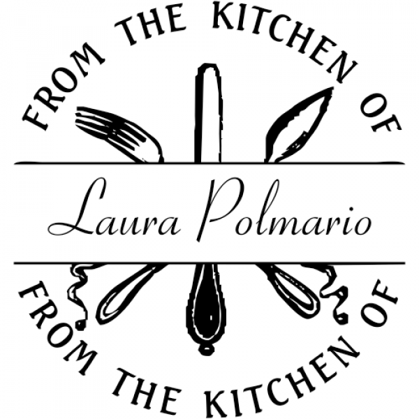 From the Kitchen Silverware Custom Stamp
