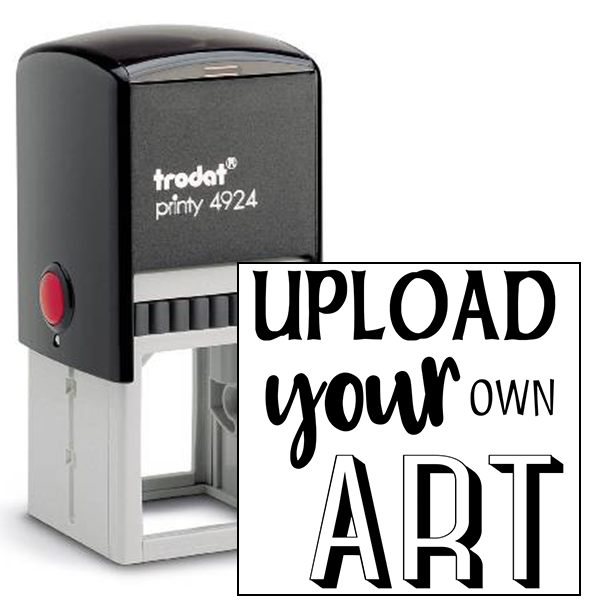 Upload Your Art Self-Inking Rubber Stamp