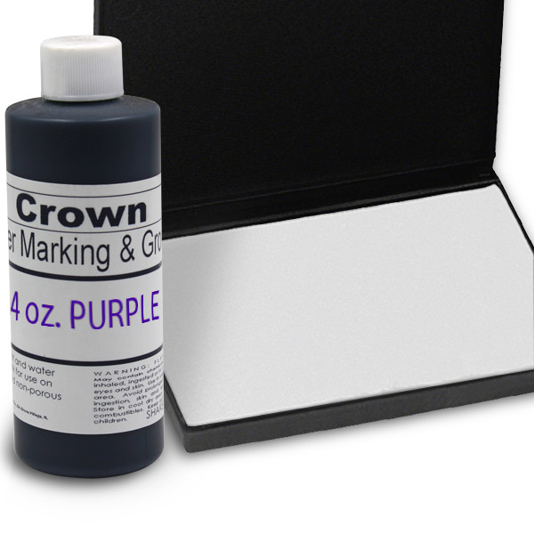 Purple 4oz SuperMarking Ink w/ Medium Pad