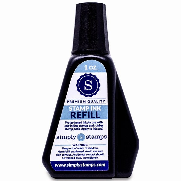 Trodat stamp refill ink bottle 1 ounce