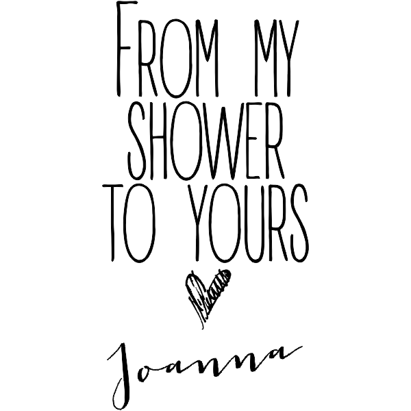 My Shower to Yours DIY Wedding Stamp