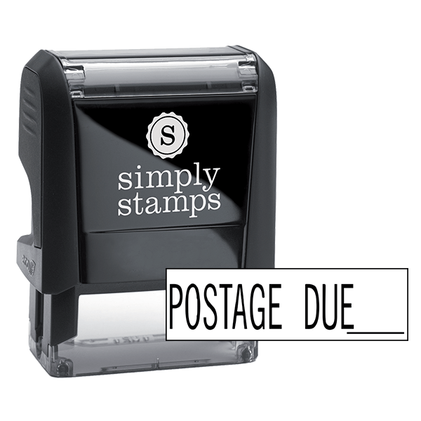 Postage Due Stock Stamp