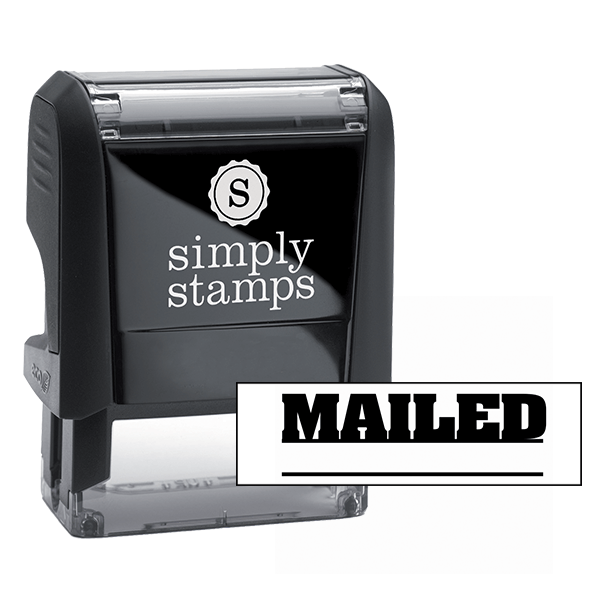 Mailed Stock Stamp