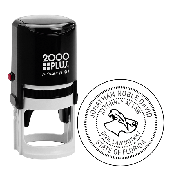 Florida Civil Law Notary Stamp