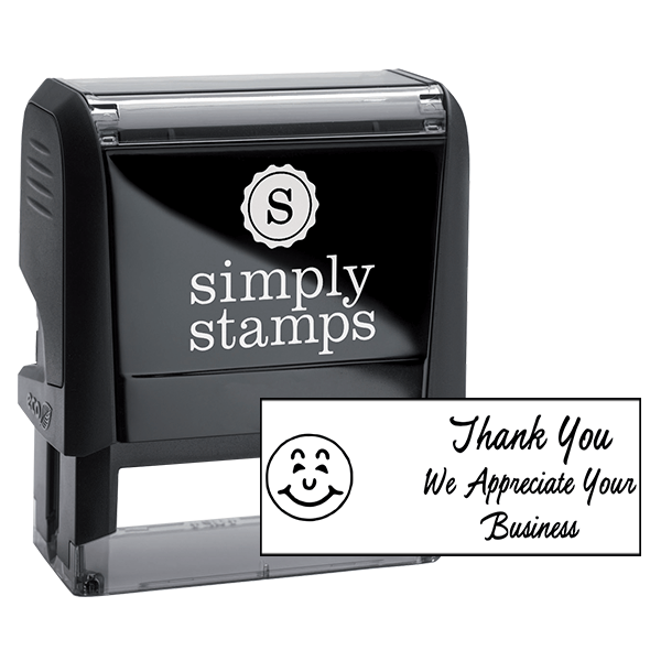 Thank You We Appreciate Your Business Stock Stamp