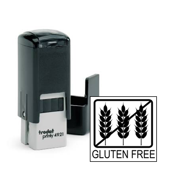 Gluten Free Allergy Alert Stamp