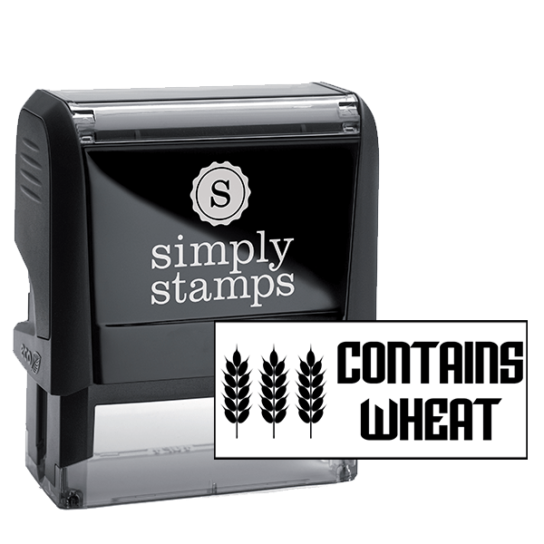 Contains Wheat Stamp