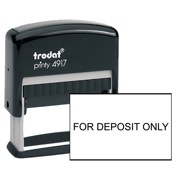 For Deposit Only Stamp