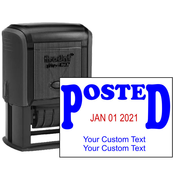 Posted Custom Date Stamp