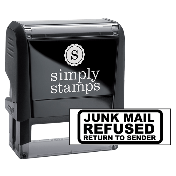 Junk Mail Refused Stamp