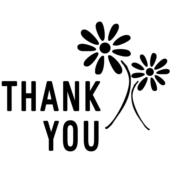 Thank You Flower Stamp