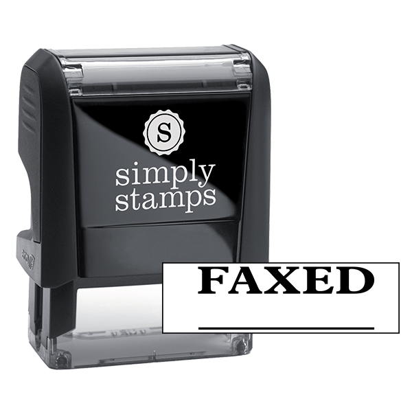 FAXED Line Stock Stamp