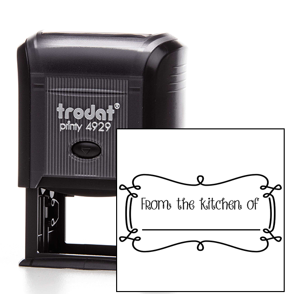 From the Kitchen Decorative Rectangle Stamp