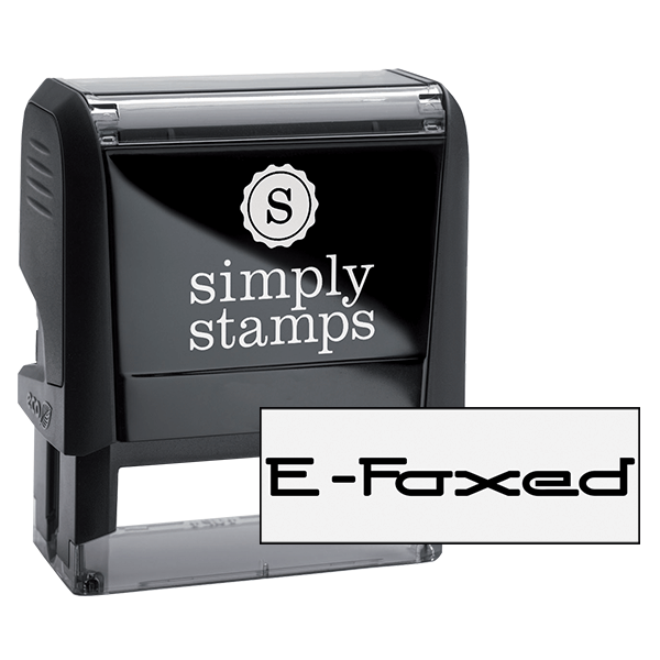 E-Faxed Office Stock Stamp
