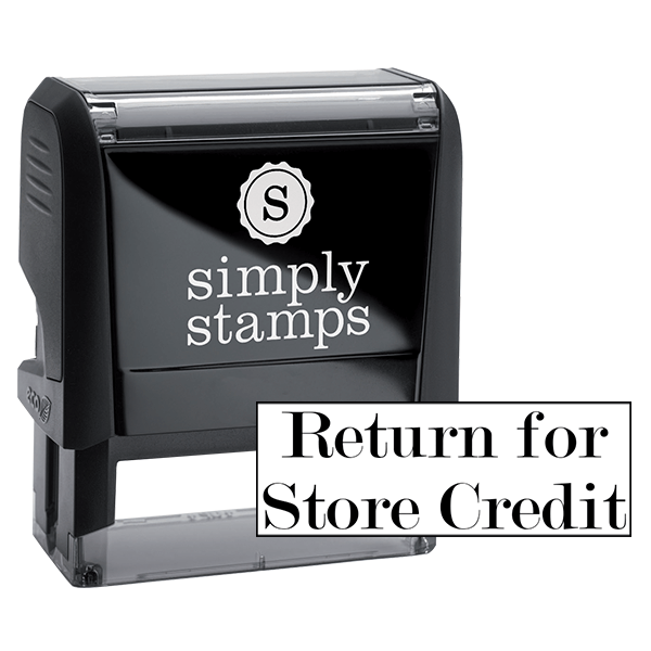 Return for Store Credit Stock Stamp