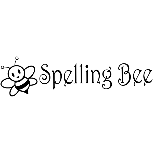 Assignment - Spelling Bee Bumble Bee Rubber Teacher Stamp