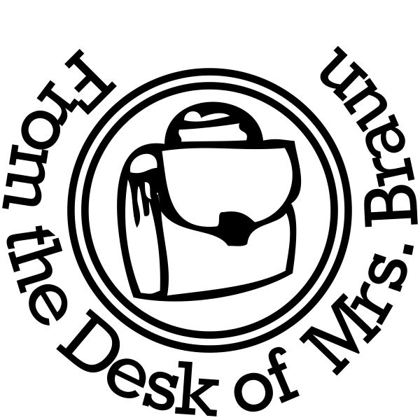 From The Desk Of - Satchel Rubber Teacher Stamp