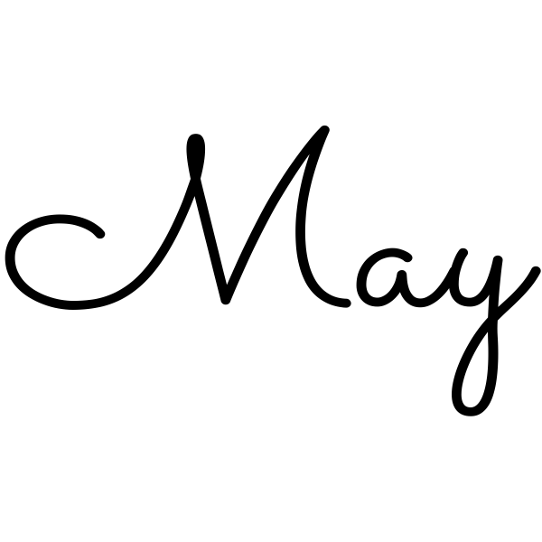 May Journal Stamp